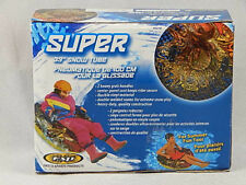"""39"""" Super Snow Tube Sled or Water Summer Float Multi Color PVC Handles"""