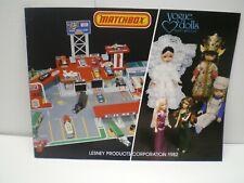Lesney Matchbox Original 1982 39 page full colour Dealer sale Catalog