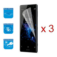 For Sony Xperia XZ2 - Screen Protector Cover Guard LCD Film Foil & Cloth x 3