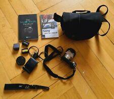Sony Alpha NEX-5N 16.1MP mit Objektiv SEL1855 und Zubehörpaket