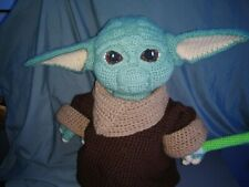 Baby Yoda Crocheted