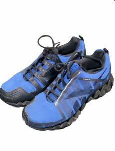 Reebok Zigwild TR 2 TR2 Trail Running Men's Size 8 Blue Black Gently Used