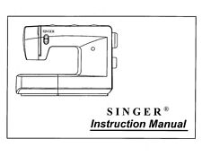 Singer 3810-3820 Sewing Machine/Embroidery/Serger Owners Manual Reprint
