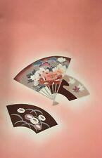 Vintage Japanese Silk Kimono Fabric Panel Quilting Patchwork