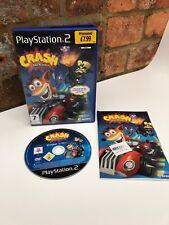 Crash Tag Team Racing (ps2) Playstation 2 UK PAL Version/guter Zustand
