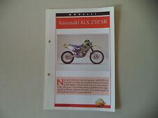 - SCHEDA TOP MOTO - KAWASAKI KLX 250 SR