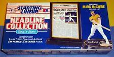 1993 Mark Mcgwire Oakland A's Athletics Headline Starting Lineup - Free s/h -
