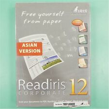 NEW I.R.I.S. Inc Readiris Corporate 12 OCR Software for MAC *ASIAN VERSION*