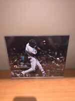 Lewis Brinson Signed Milwaukee Brewers 8x10 Photo Miami Marlins MLB Baseball COA
