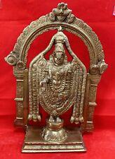 """God Balaji Venkateswara statue  hindu god brass 13""""  Usa Seller fast shipping"""