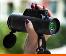 UK PANDA 35X50 Focus Zoom Portable Travelling HD OPTICS BK4 Monoculars Telescope