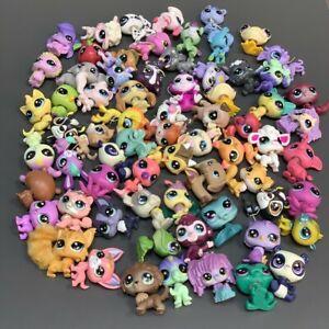 Random 30PCS Little Pet Shop LPS Cat Puppy Fox 2'' Animal Figures Kids Toy Gift