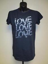 NEW Love Love Love Womens M Medium Dark Navy Shirt