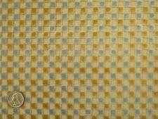 Damn Chic Joseph Noble Rugby Geometric Squares Cut Velvet Upholstery Fabric