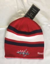 Washington Capitals Knit Beanie Toque Winter Hat Skull Cap NEW NHL Center Ice