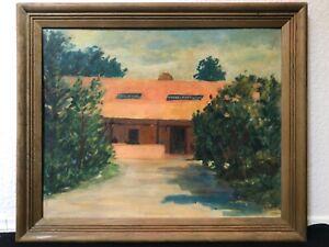🔥 Antique California Plein Air Impressionist Oil Painting La Jolla Torrey Pines