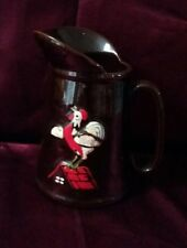 Vintage ceramic rooster mug 18 oz hand painted