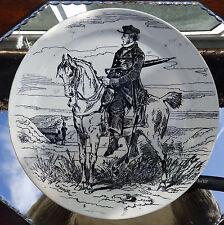 Antique French Transferware Pottery a Comical Plate by Creil et Montereau