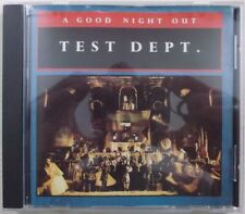 Test Dept. Department - A Good Night Out CD1987
