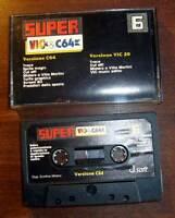 SUPER VIC & C64 N.6 - COMMODORE 64 e VIC 20 - GIOCHI E PROGRAMMI RETROCOMPUTER