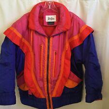 Neiman Marcus Multicolors Puffer Jacket Size Large
