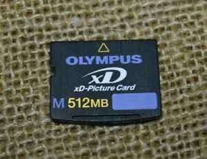 Olympus M512mb XD Picture Memory Card Toshiba Japan