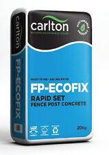 CARLTON FP-ECOFIX Rapid Fast Drying Concrete Postcrete Mix for Fencing - 20kg