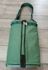 Epic Products Green Wine Travel Kit For Two Zippered Picnic Backpack Bag Unused
