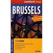 Brussels r/v (r) wp mini (City Plan Pockets), ExpressMap Polska Sp. z o.o., New,