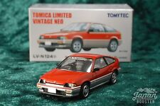 [TOMICA LIMITED VINTAGE NEO LV-N124a 1/64] HONDA BALLADE SPORTS CR-X 1.5i RD/SV