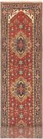 "Hand-knotted Carpet 2'6"" x 19'6"" Serapi Heritage Traditional Wool Rug"