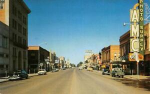 Main Street Scene BOZEMAN Montana AMC Photo Supply c1950s Vintage Postcard