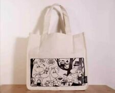 Moomin Valley Characters Foldaway Handcarry Shopping Tote Bag D