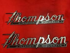 THOMPSON EMBLEMS