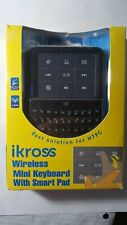 iKross Palm-Sized Mini Wireless Media Keyboard with Multi-Touch Gesture for HTPC