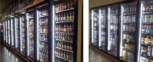 V Shape T8 LED for Gas Station interior, exterior & Cooler Door 4,5,6,8 feet