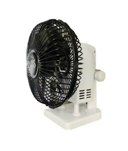 Small Table Desk Fan12cm Adjustable Super Quiet Small Solid Stand NNS