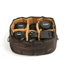 CIESTA Flexible Large Camera DSLR SLR Lens Insert Partiton Padded Case Bag V_e