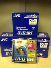 31x JVC DVD-RW for Camcorder 60 min Double Sided 2.8 GB High Speed for Handycam