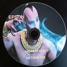 EPSON ARTISAN 835  REPAIR RESET CD