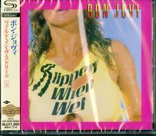 BON JOVI-SLIPPE Y WHEN WET -SPECIAL EDITION +3-JAPAN SHM-CD BONUS TRACK D50