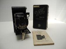 Antique Vest Pocket Kodak Model B Periscopic Lens Camera with Box & Instructions