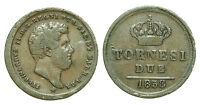 pci0183) Regno delle Due Sicilie Ferdinando II - 2 Tornesi 1858