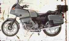 BMW R100RT Classic 1995 Aged Vintage SIGN A3 LARGE Retro
