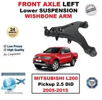 FRONT AXLE LEFT Lower WISHBONE ARM for MITSUBISHI L200 Pickup 2.5 DiD 2005-2015