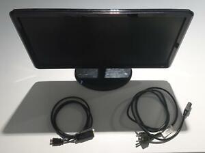 """21,5"""" TFT LCD Lenovo  LS2221wA 1920 x 1080 D-Sub 15pin DVI-D Monitor LED"""