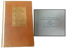 Rudyard Kipling SIGNED, The Feet Of The Young Men 1920 Limited Edition
