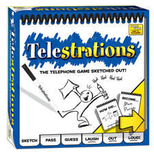 Telestrations® 8 Player The Original  AGE 12+  4-8 players 10-15 min rounds
