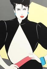 PATRICK NAGEL Illustration POSTER 1990 DUMAS Art Deco AMERICAN Vintage #445
