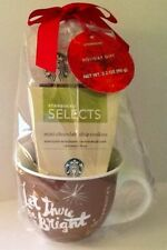 Starbucks Christmas Holiday Gift Set Cup Mini Chocolate Chip Cookies House Blend